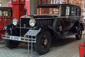"""Audi Typ SS """"Zwickau mit Rickenbacker Achtzylinder Baujahr 1930"""