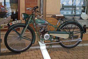 Wanderer Leichtmotorrad mit Fichtel & Sachs-Motor