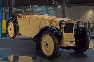 DKW F 1 Roadster im sächsischem Industriemuseum