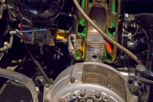 Schnittmodell Motor F 7