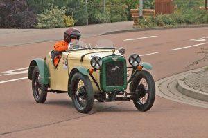 Austin Seven Roadster beim ADMV Classic Cup in Köthen