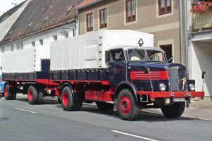 Video: H 6 Lastzug bei der Curbici Veterano in Zörbig, 2009
