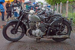 """DKW SB 500 Zweizylinder bei der """"Via Regia"""" in Markranstädt"""