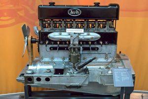 Audi Sechszylindermotor 18/70 PS, Baujahr 1926