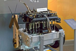 Motor 14/17 PS im August Horch Museum Zwickau