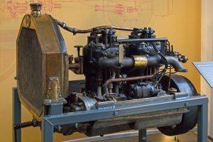 Motor des Horch von 1904