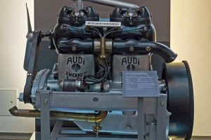 Audi Typ E Vierzylindermotor, 1913
