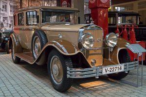 Horch 375 Pullmann-Limousine im August Horch Museum Zwickau