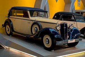 Audi UW 8/40 PS Cabriolet, Baujahr 1934