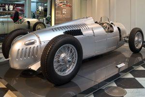 "Autounion ""Silberpfeil"" im August Horch Museum Zwickau"