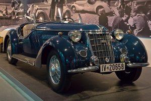 Wanderer W 25 K Roadster, Baujahr 1936,im August Horch Museum Zwickau