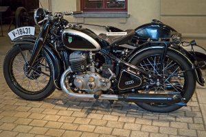 DKW SB 500 Gespann Baujahr 1934 im August Horch Museum Zwickau