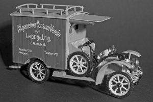 Dixi SM 15 Lieferwagen Baujahr 1909, Modell Max Krätzer, VEB Modellkonstrukt Leipzig