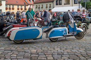 """Motorroller """"Berlin"""" mit Anhänger """"Campi"""""""