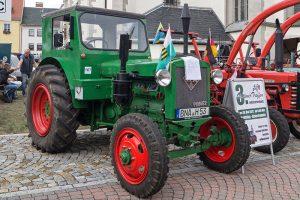 """Traktor RS 01 """"Pionier"""" beim Oldtimertreffen in Pegau 2016"""