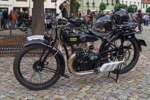DKW E 300 Baujahr 1928 beim Oldtimertreffen in Pegau 2016