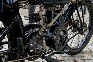 DKW E 300 Detail Motor