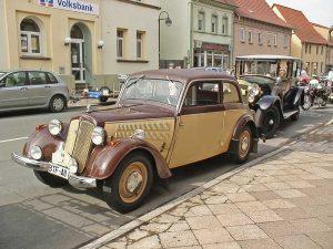 "DKW F 8 Limousine bei der ""Curbici Veteraono"""