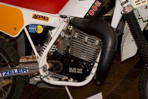 MZ GT 500 (370ccm) Bj. 1988 in der Enduro-Sonderausstellung anlässlich der Six Days im Bergbaumuseum Ölsnitz 2012