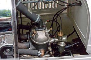 DKW MonopostoDetail Zweizylindermotor