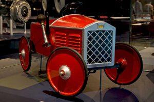 """DKW-Kindertretauto """"Teufelchen"""" im Sächsischen Industriemuseum Chemnitz"""