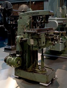 Wanderer Fräsmaschine im sächsischen Industriemuseum