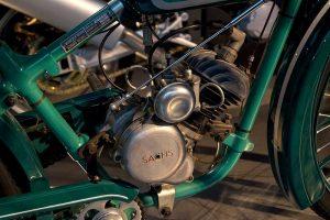 Wanderer Leichtmotorrad mit 98 ccm Sachs-Motor