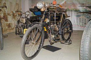 Diamant-Motorrad 320ccm, Baujahr 1904