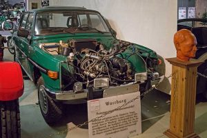 """""""Turbinen-Wartburg"""" von Dr. Glaubrecht im Museum für sächsische Fahrzeuge in Chemnitz"""
