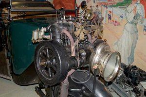 Phänomobil Modell ZN, Baujahr 1921, Detail Motor