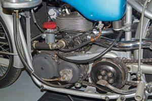 Motor US 250 im Museum für sächsische Fahrzeuge