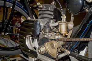 Motor DKW E 206 spätere Ausführung mit Kette, Baujahr 1928