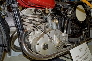 Prototyp mit Doppelkolbenmotor 400ccm, Baujahr 1931