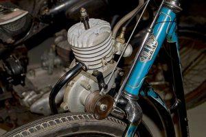 Naether Fahrradhilfsmotor 20ccm, Baujahr 1950