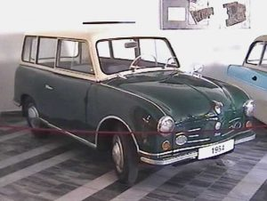 Früher P 50 Prototyp von 1954, Foto: B. Hofmann