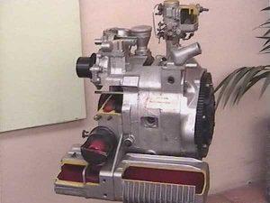 Einscheiben-Wankelmotor