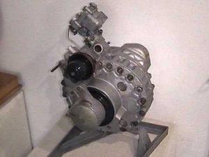Einscheiben-Wankelmotor, 500ccm, 50 PS