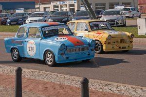 Trabant 601 und 1.1 Tourenwagen beim ADMV Classic Cup in Köthen, 2015