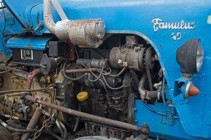 Famulus RS 14/40W Detail wassergekühlter Motor