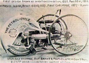Das Petrol-Cycle von Edward Butler