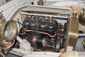 Motor des R8 in der Automobilen Welt in Eisenach