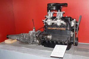 Triebsatz des EMW 340-2
