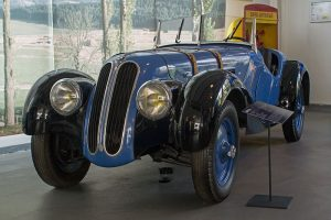 BMW 328 Baujahr 1938 in der Automobilen Welt Eisenach