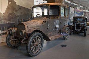 DIXI R9 8/21 Limousine Baujahr 1912 in der Automobilen Welt in Eisenach