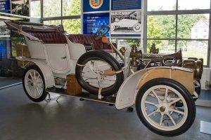 DIXI R8 Phaeton 6/14 PS Baujahr 1910in der Automobilen Welt in Eisenach