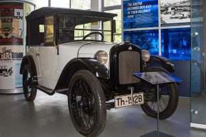 Austin Seven in der Automobilen Welt in Eisenach