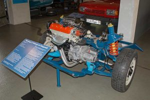 Antriebseinheit Wartburg 1.3 in der Automobilen Welt Eisenach