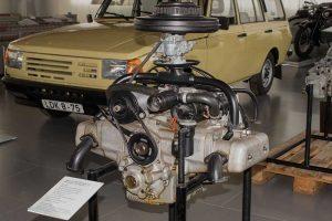 Prototyp Motor B 11in der Automobilen Welt Eisenach