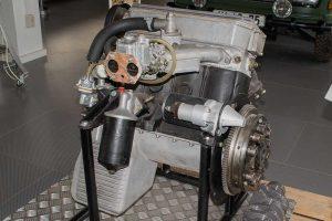 """Motor 400 """"Löwe von Buchenau""""in der Automobilen Welt Eisenach"""
