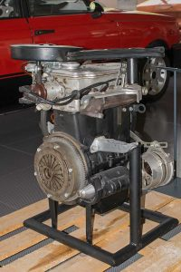 Prototyp Dreizylindermotor 234, 1191ccm 60 PS